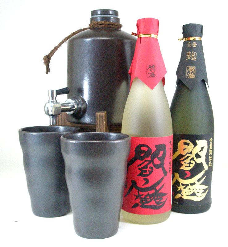 伝統の酒器で最高級な味わい