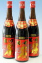 640 ml of three Seki emperor five years flower carving liquor (red) sets