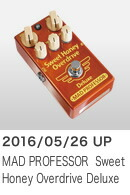 MAD PROFESSOR ���ե������� (NEW) Sweet Honey Overdrive Deluxe
