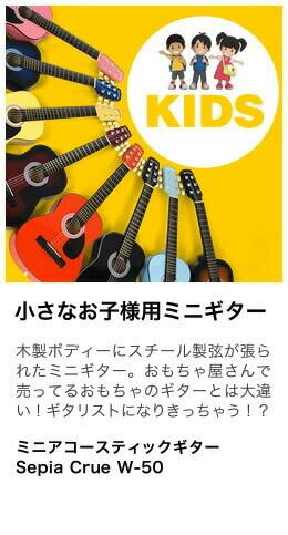 SEPACRUE W-50 ミニギター