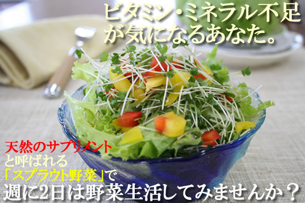 You who are worried about lack of vitamins mineral. Do vegetables not live for two days a week?