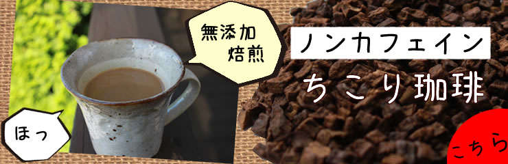 ちこり coffee ★ non caffeine non-calorie no addition roast trial email mail [free shipping] 800 yen
