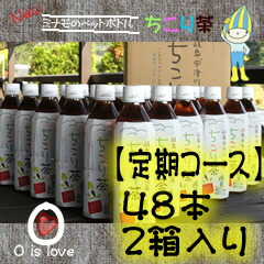 [regularly notice course] 48 ちこり tea plastic bottles (two)
