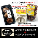 ギアリンクス black going to & macadamia nuts with setting