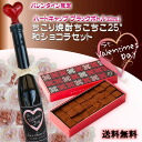 Late, sorry last year won heaven ranking one place too! Japanese chocolate 24 pieces & field of the world's first from potato alcohol set of handmade MINO Sachiko and shochu ちこちこ 350 ml bottle