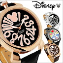 Disney / Disney Mickey big index watch and all 4 color press the round face and Croc belt fs3gm