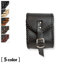 Bikies cigarette case tough oil leather black accessory case handmade fs04gm