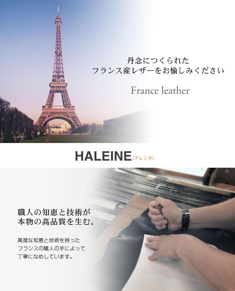 HALEINE [������] Ĺ���� �ܳ� W �饦��ɥե����ʡ� ���ե������� �ե�� �쥶�� / ��ǥ�����