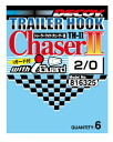 Katsuichi (KATSUICHI) single hook trailer hook chaser II TH-II #2 - #1/0 (02P30Nov13)