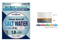 Toa Strings (TOA)  Five colors of salt water PE 300m (10mx5 color) 0.6