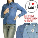 LEE (Lee )-Lady's-denim Western shirt Heritage Edition 2 LL0338