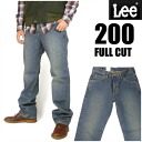 LEE (Lee ) 200 ユーズドブルー - FULL CUT / full cut-loose because of the straight 02000