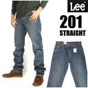 LEE (Lee ) 201 / Lee Riders - distressed blue - AMERICAN STANDARD