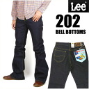 LEE (Lee ) 202 BELL BOTTOMS ( bell-bottom ) - one wash - AMERICAN STANDARD 04202.