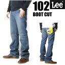 LEE (Lee ) 102/Lee Riders - BOOTCUT blue bootcut - used AMERICAN STANDARD