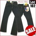 LEE (Lee )-102 / Boot Cut (bootcut ) - one wash / indigo blue LM4102-American Riders 2-