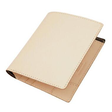 Air wallet 白ヌメ革