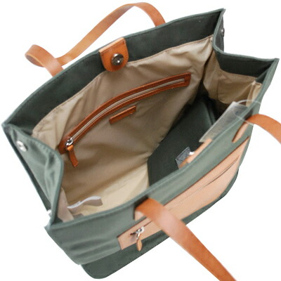 Canvas leather diaper bag