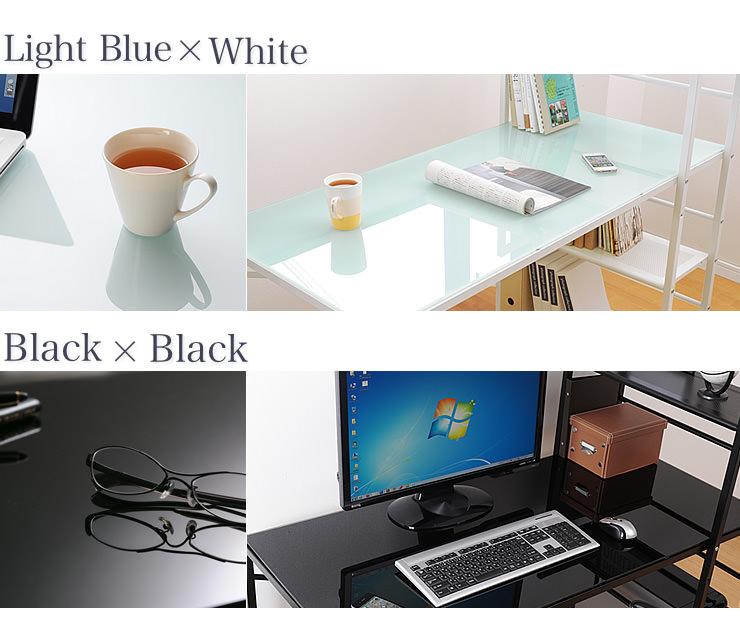 ライトブルー&ホワイト ブラック&ブラック