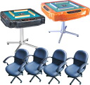 All automatic mahjong table Amos pleasure mahjong chair sets☆★