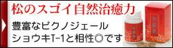 松康泉 松の瘤のすごい自然治癒力 ショウキT-1との相性は抜群