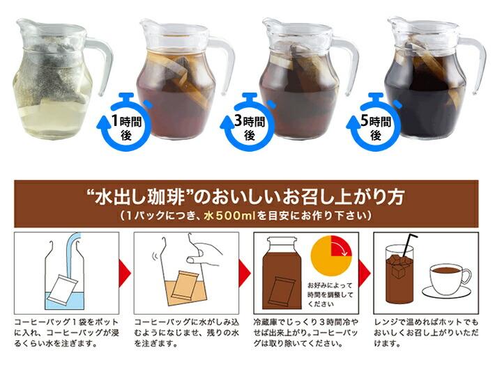 水出しコーヒーの美味しいお召し上がり方