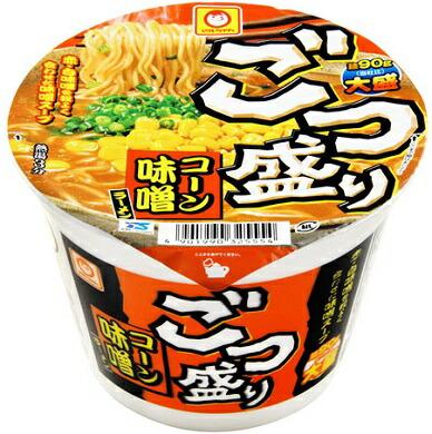 マルちゃんごつ盛りコーン味噌ラーメン(138g)麺90g大盛り!カップラーメン