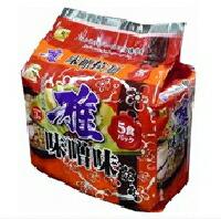 【特価】麺のスナオシ雅味噌拉麺5食パック(430g)インスタントラーメン