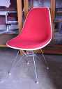Eames eames Herman Miller サイドシェル Chair red fabric herman miller
