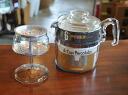 Old Pyrex フレームウェア 6 カップパーコレーター unused dead stock PYREX Corning coffee maker