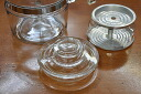 Pyrex 4 cup percolator for lid frame ware Pyrex PYREX Corning