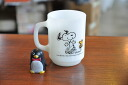Fire King Snoopy and FIREKING mug ライフイズピュアジョイ