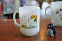 Fire King Snoopy mug life-is-pure-joy FIREKING