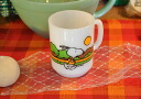 Fire King Snoopy jogging mug FireKing