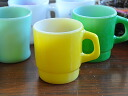 FIREKING fire King mug yellow