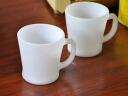 Fire King milk white D-handle mug Fireking outlet