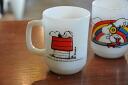 Fire King Snoopy mugs up allergies Fireking
