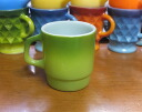 Lime green mug FIREKING fire King
