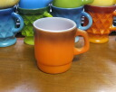 Fire King Orange gradient color mug FIREKING
