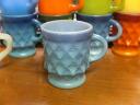 Kimberly King FireKing mug blue