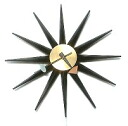 HOWARD MILLER GEORGE NELSON SunBurst Clock #2202 George, Nelson wall clock rare Sunburst original