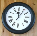 HOWARD MILLER-George Nelson GEORGE NELSON WALL CLOCK clock #622-532