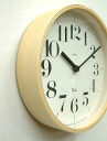 Wall clock ■ Riki Clock 401 size S Watanabe Riki design clock