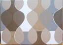 Scandinavian wall panel Malaga Mona Bjork design size M Brown