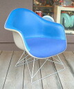 Eames eames Herman Miller armshell Chair ■ blue-to-ton revolving CP