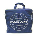 Pan Am Airlines PANAM airline square Boston bag