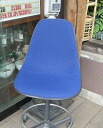 Eames eames Herman Miller herman miller Navy blue-fabric side shell