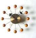 Exquisite wall clock ball clock brass color and ball coloring