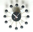Wall clock ball clock ■ cool black