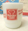 Fire King Burger chef good morning mug Fireking